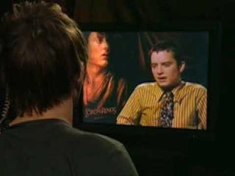 Prank Interview with Elijah Wood