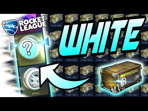 TITANIUM WHITE! - EPIC NITRO Rocket League Crate Opening (Search for Bubbly/Spectre, Mantis, Draco)