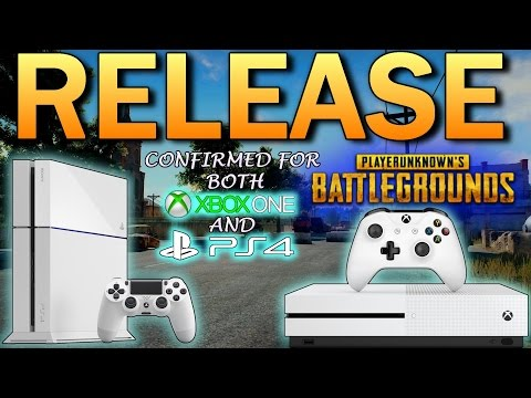 Battlegrounds PS4 & XB1 RELEASE CONFIRMED!! PlayerUnknown's Battlegrounds On PLAYSTATION 4 & XBOX 1