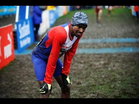 Mo Farah pierde el Cross de Edinburgo