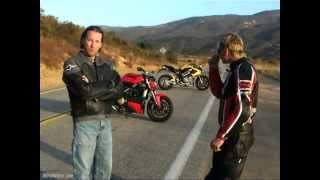 2009 Streetfighter Comparison: 2010 Ducati Streetfighter vs. 2008 Benelli TnT 1130
