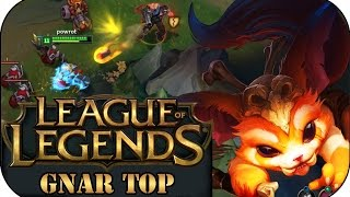 TOTAL ÜBERLADENES KIT! GNAR TOP | League of Legends Gameplay deutsch