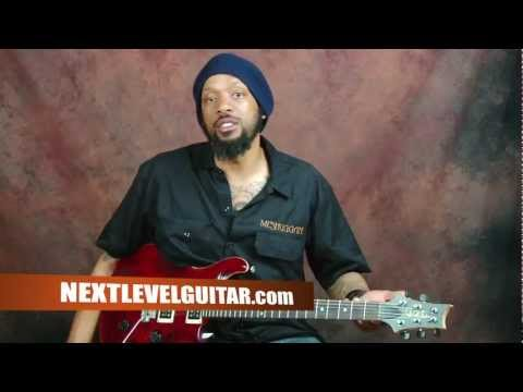 0 Learn how to play rock rhythms power chords palm muting electric guitar lesson