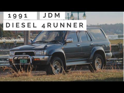 1991 Toyota Hilux Surf SSR-X 5 Speed Turbo Diesel JDM Import