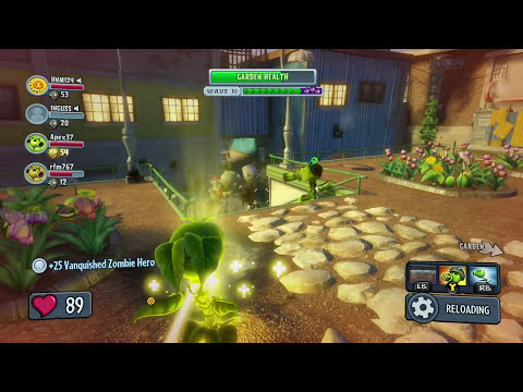 Plants vs. Zombies: Garden Warfare - Super Giga Gargantuar Boss Wave