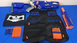 Box of Toys Toy Guns NERF N Strike Tactical Vest Toys for Kids