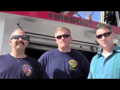 Port of Houston fireboat stops in New Orleans