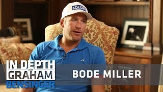 Bode Miller on partying with unlimited beer senior year