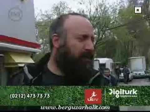 Bergüzar Korel & Halit Ergenç ve minik oğulları Ali - TNT