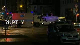 LIVE: Breaking - Shooting In Strasbourg
