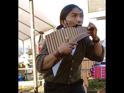 Raza inka pan flute