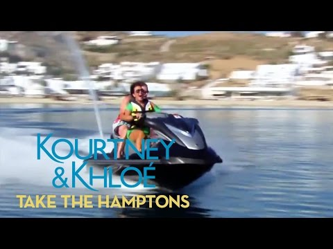 Jet Set with Kourtney & Khloé | Kourtney & Khloé Take the Hamptons | E!