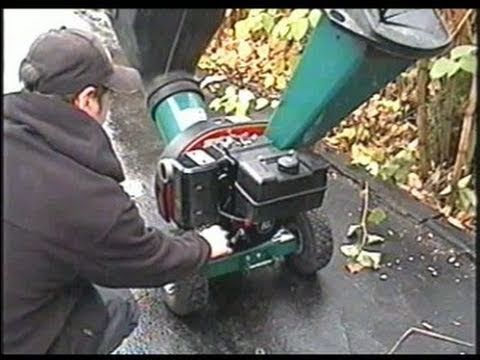 Fuel Pump Repair on Wood Chipper Shredder with 10HP Briggs Engine