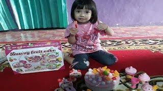 Mainan Anak Kue Ulang Tahun - Cake Play Set