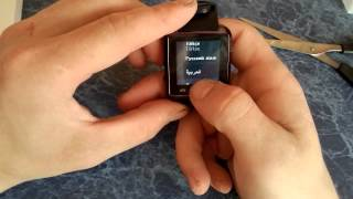 Обзор №6. Часы U8 smart watch android. Aliexpress.
