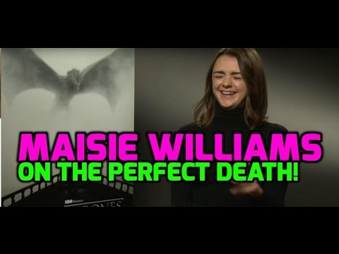 Game Of Thrones: Maisie Williams on Arya Stark's death