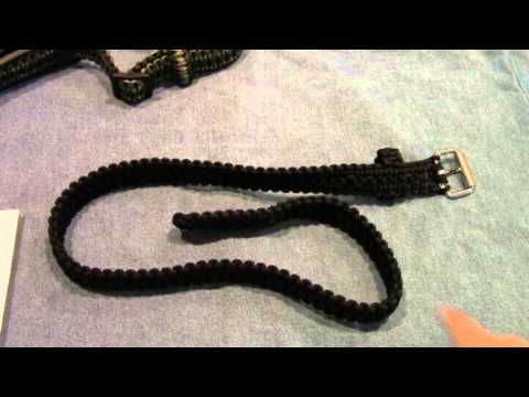 Gear review: RidgeRunner paracord belt for survival use