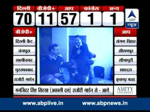 Birthday gets happier for Kumar Vishwas ll Celebrations at AAP office