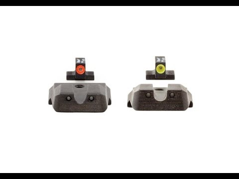 Trijicon HD Night Sights: S&W M&P