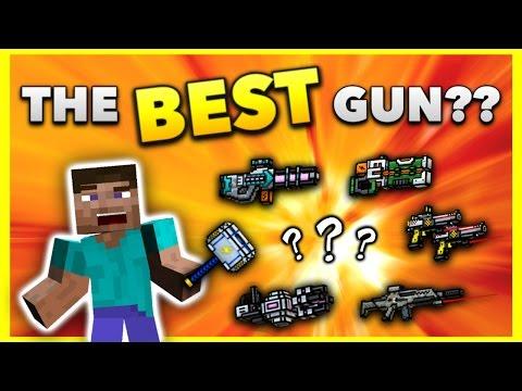 The BEST Gun In Pixel Gun 3D EVER!!
