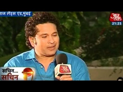 Sachin... Sachin: Tendulkar on India-South Africa WC match