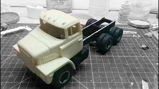 Dodge Heavy Tow Truck Build Pt4 1/25 scale