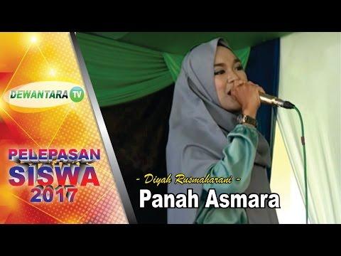 PANAH ASMARA - Vokal: Diyah Rusmaharani  #Acara Pelepasan Siswa Kelas XII @2017