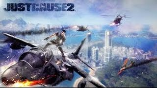 Just Cause 2 Brincando com armas Zoeira EVER