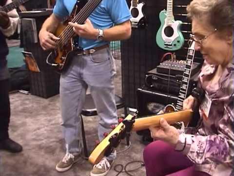 Carol Kaye,Steve Bailey&Victor Wooten BassSession NAMMSHOW 2000
