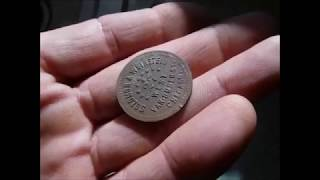 1st good finds of the new 2019 season!  ( Metal detecting Cent IL )