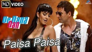 Paisa (HD) Full Video Song   De Dana Dan   Akshay Kumar, Katrina Kaif  