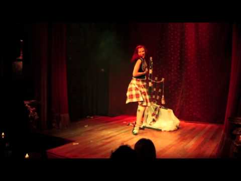 Bettina May's Scotland The Brave Burlesque