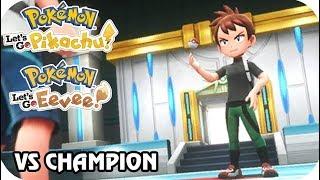 Pokémon Let's Go Pikachu & Eevee : Vs. Champion Rival (1080p60)