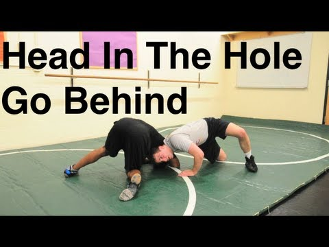 Front Headlock Series: Head in the Hole Go Behind: Basic Wrestling Moves and Technique For Beginners Image 1