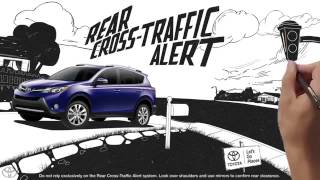 RAV4 Tour Compact SUV Safety Features 2014 Toyota RAV4
