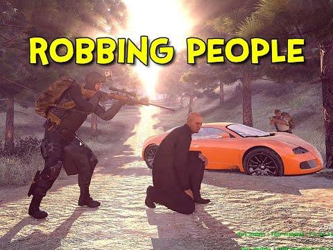 ROBBING PEOPLE Arma 3: Life Ep.3