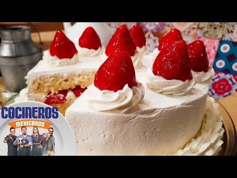 Receta: Pastel tres leches | Cocineros Mexicanos