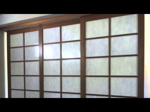 Creative Blinds Shoji Screens Sliding Room Divider ...