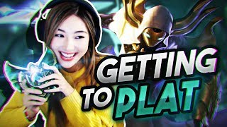 GETTING CLOSER TO PLAT | XCHOCOBARS LEAGUE OF LEGENDS
