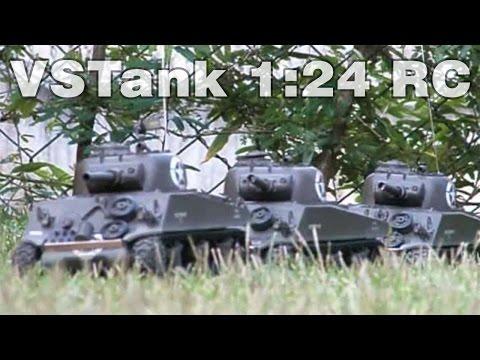 VSTank Combat - Tiger x Sherman - RC
