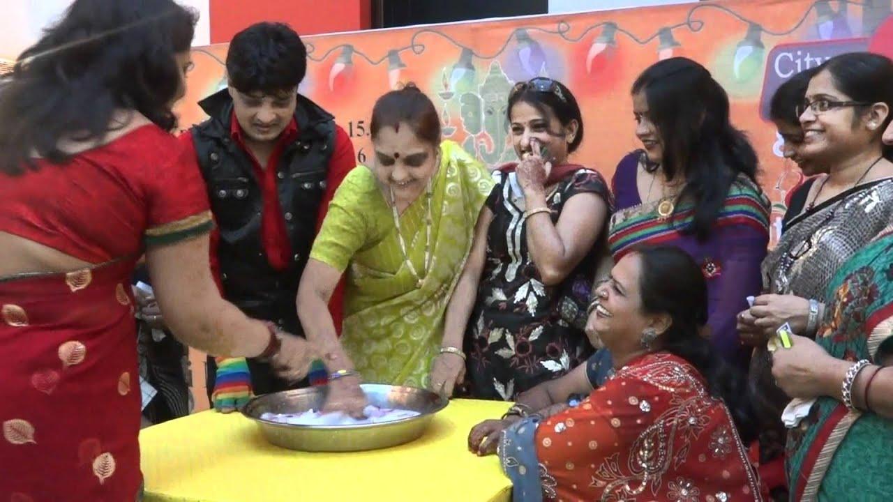 karva chauth suruchi mall 36 game show anchor raipur