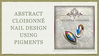 download lagu Abstract Cloisonne Nail Design gratis