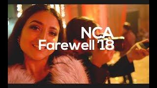 How the Farewell in NCA goes like !!??   VLOG