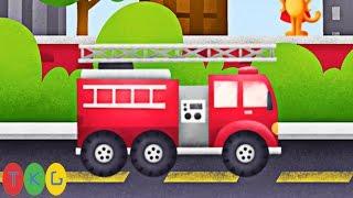Lắp Ráp Xe xúc đất - Máy ủi đất - Xe đổ rác - Xe cứu hỏa | Trucks | TKG