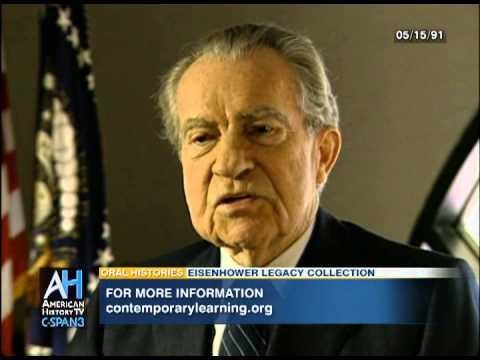 Oral Histories: Former President Richard Nixon