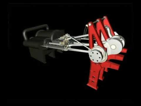 Computer Animation - Maid of the Loch Steam Engine