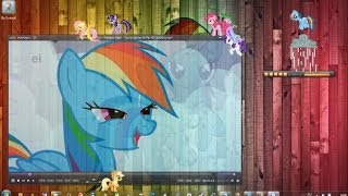 Пони в Виндовс / My Little Pony in Windows