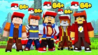 Minecraft: COMBO LUCKY PIXELMON  - POKEMON #20 ‹ EduKof Games ›