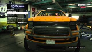 GTA5 TUNING GARAGE MONSTER TRUCK