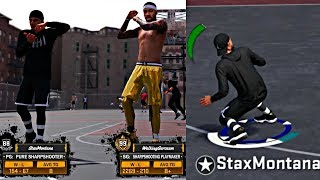 TAKING OVER THE PARK WITH A 99 OVERALL! SO MANY GREENS THE PARK STARTED GLITCHING! - NBA 2K18 MyPark